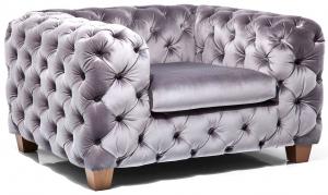 Кресло Desire 128X105X68 CM серого цвета