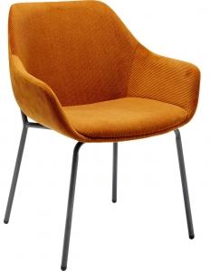 Стул с подлокотниками Avignon 58X62X79 CM оранжевого цвета