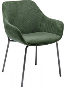 Стул с подлокотниками Avignon 58X62X79 CM зелёного цвета