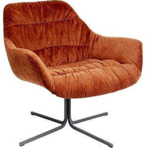 Кресло Bristol 83X76X79 CM оранжевого цвета