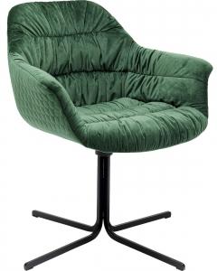 Стул вращающийся Colmar 66X64X79 CM зелёного цвета