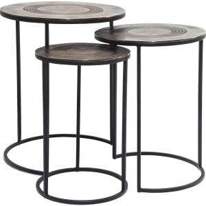 Сет из трёх столиков Marrakesch 48X48X59 CM