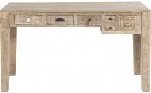 Письменный стол из массива манго Puro 135X60X78 CM