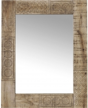 Зеркало в резной раме из манго Puro 54X74 CM