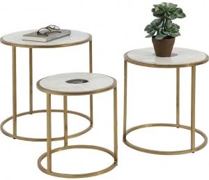 Комплект столиков Limbo 45X45X43 / 40X40X37 / 32X32X35 CM