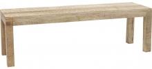 Скамья из массива манго Puro 140X40X45 CM