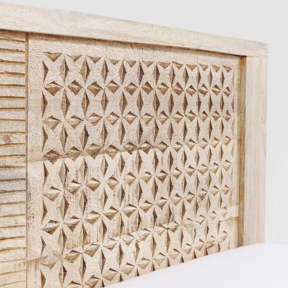 Кровать из манго Puro 189X218X76 CM 4