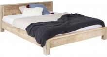 Кровать из манго Puro 189X218X76 CM