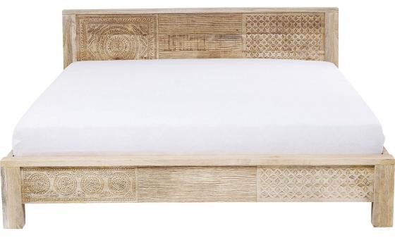 Кровать из манго Puro 189X218X76 CM 2