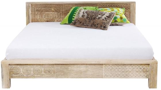 Кровать из манго Puro 169X218X76 CM 2