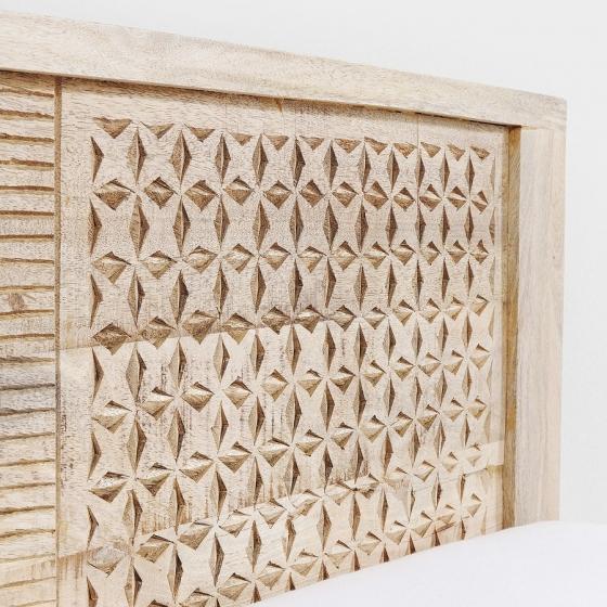 Кровать из манго Puro 169X218X76 CM 5