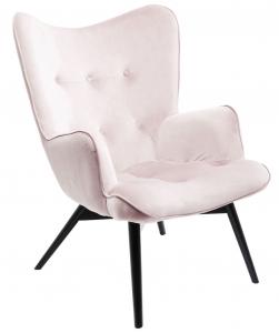 Кресло Vicky 73X83X94 CM розового цвета