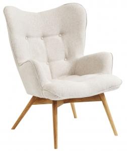 Кресло Vicky 73X83X94 CM белого цвета