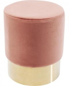 Пуф Cherry 35X35X42 CM бледно розового цвета