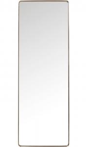 Зеркало в стальной раме Curve 200X70 CM цвет медь