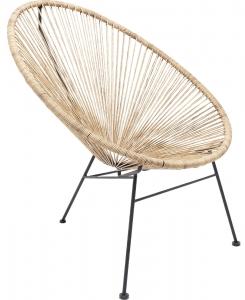 Кресло Spaghetti 73X80X88 CM бежевого цвета