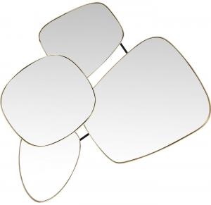 Зеркало в стальной раме Shapes 110X130 CM