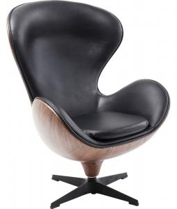 Кресло Lounge 82X110X73 CM black walnut
