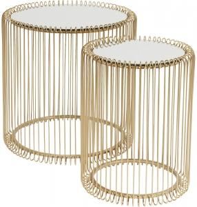 Столики приставные Wire 44X44X45 / 33X33X43 CM