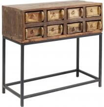 Консольный столик в эко стиле Bastidon 75X35X75 CM