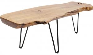 Столик кофейный из тика Aspen 40X40X106 CM