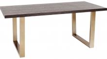 Стол из ясеня на стальных ножках Osaka 180X90X76 CM