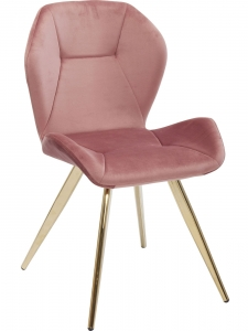 Стул Viva 52X52X81 CM розового цвета