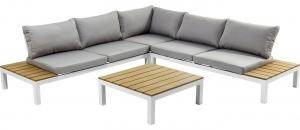 Угловой диван со столиком Fiesta 242X242X63 CM
