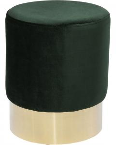 Пуф Cherry 35X35X42 CM зелёного цвета