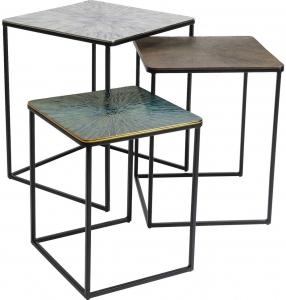 Комплект столиков Ray 49X49X59 / 43X43X52 / 37X37X44 CM