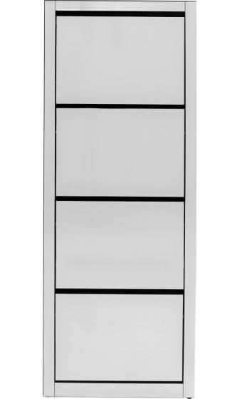 Шкаф для обуви Luxury 55X30X162 CM зеркальный 6