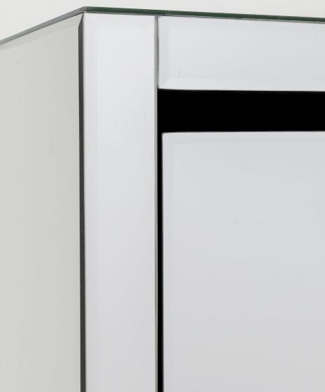 Шкаф для обуви Luxury 55X30X162 CM зеркальный 4