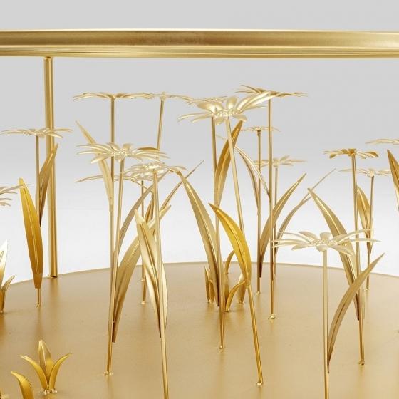 Журнальный столик Flower Meadow 80X80X36 CM 2
