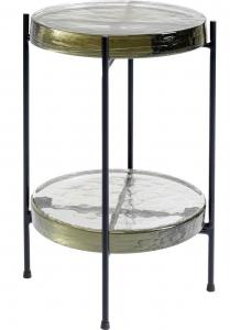 Вспомогательный столик Ice Double 30X30X50 CM