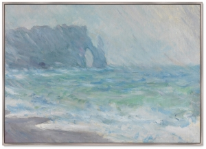 Постер The Manneport Etretat In The Rain 105X75 CM