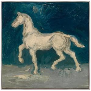 Постер Horse 105X105 CM