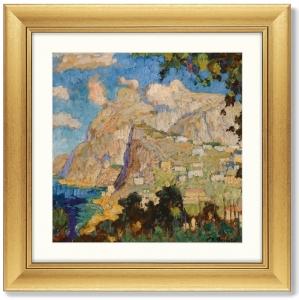 Постер View of Monte Solaro Capri 61X61 CM