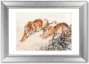 Постер Tiger in the Bush 71X51 CM