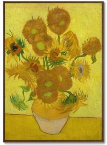 Постер Sunflowers 75X105 CM