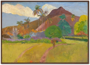 Постер Tahitian Landscape 105X75 CM