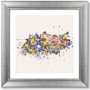 Постер Rome is an optimistic abstraction 61X61 CM