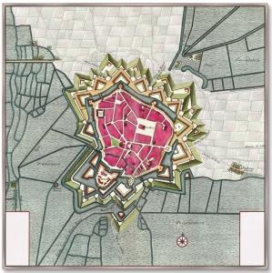 Постер Bethune Artois province France 105X105 CM