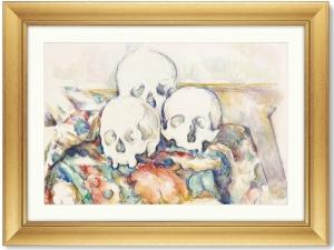 Постер The Three Skulls 81X61 CM
