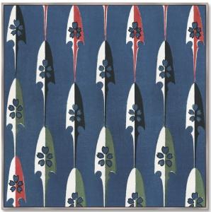 Постер Vintage print of Japanese textile 105X105 CM