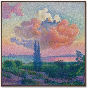 Постер The Rose Cloud 105X105 CM