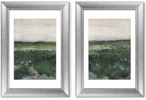 Диптих Landscape with Wheelbarrow 51X71 / 51X71 CM