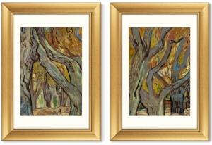 Диптих The Large Plane Trees 51X71 / 51X71 CM