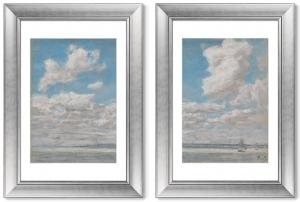 Диптих Seascape with Open Sky 51X71 / 51X71 CM