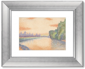 Постер The Banks of the Marne at Dawn 51X41 CM