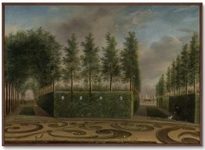 Постер A Formal Garden 105X75 CM